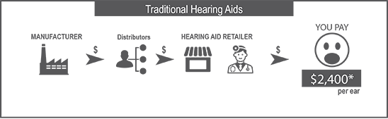 Hearing Aids Traditional model