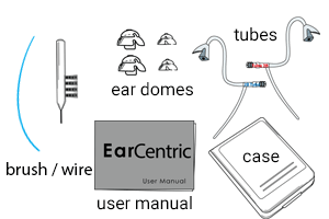 Ear Centric Rechargeable Hearing Aids EX2 hearing aids