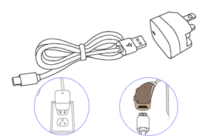 Rechargeable Hearing Aids - USB Charging Kits